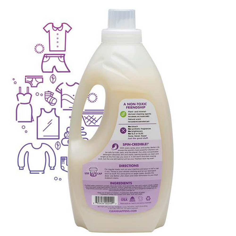 All Natural Lavendar Grapefruit Laundry Detergent