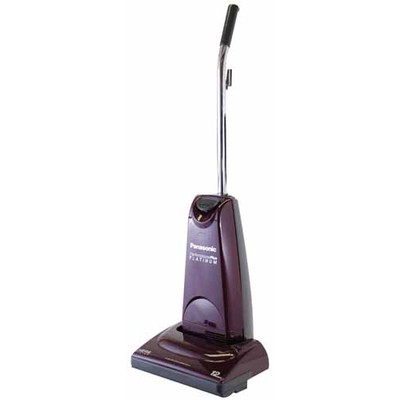 Panasonic MC-UG581 Platinum upright vacuum cleaner.