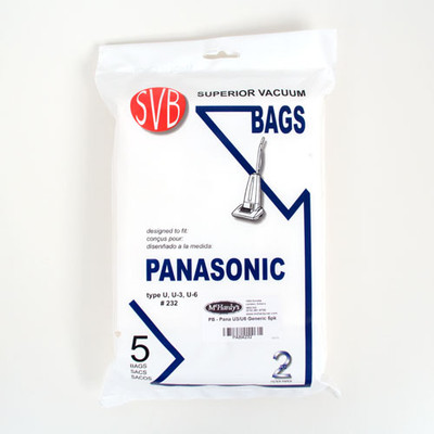 Panasonic U3 Vacuum Cleaner Bags