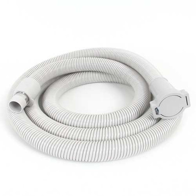 Central vacuum extension hose with a 12 foot reach.