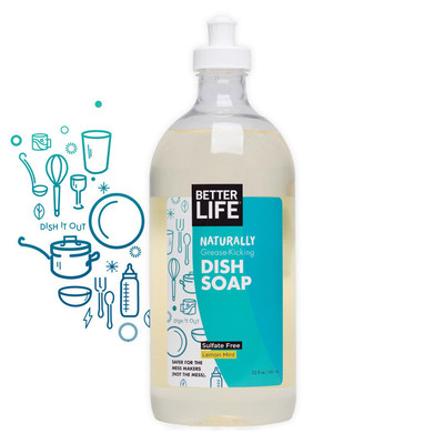 Better Life All Natural Dish Soap