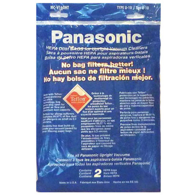 Panasonic U10 Upright Vacuum Cleaner Bags