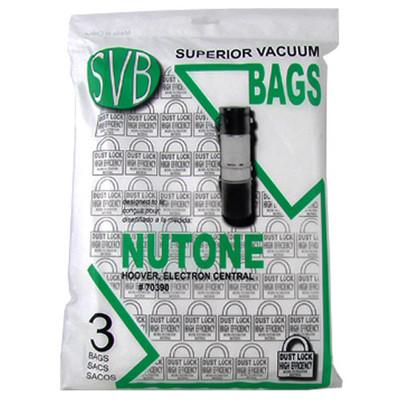 Central Vacuum Bags 3pk