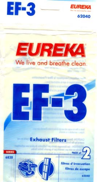 Eureka EF3 Exhaust Filter for Canister Vacuums