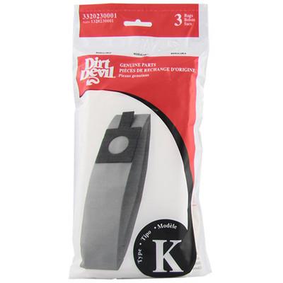 Dirt Devil Type K Bags