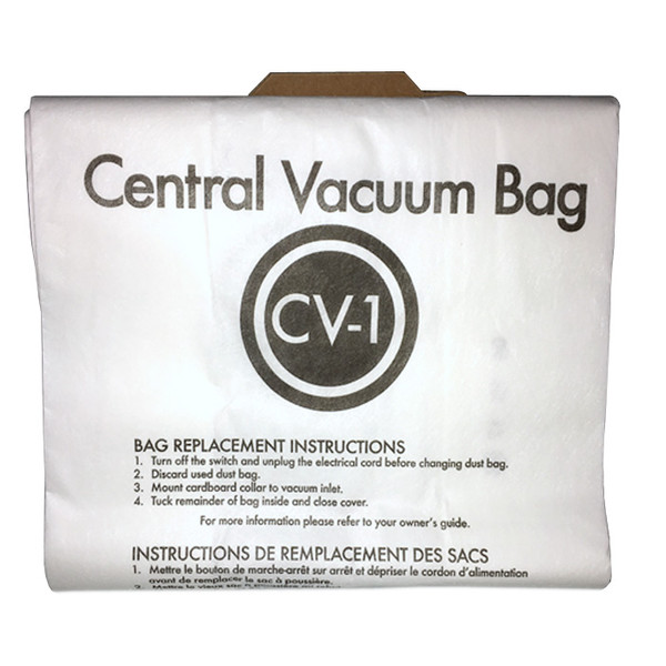 Buy Eureka Style Cv Central Vacuum Cleaner Bags 3pk From