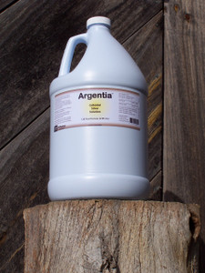 Argentia Colloidal Silver 50 ppm Solution, 128 oz.