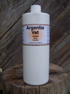 Argentia Vet 50 ppm Colloidal Silver Solution, 32 oz.