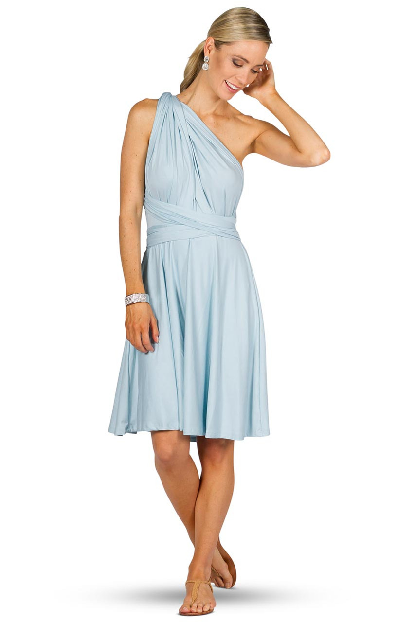 Convertible bridesmaid dress midi sky blue bridesmaids etc convertible bridesmaid dress midi sky blue gallery loading image 1 ombrellifo Images
