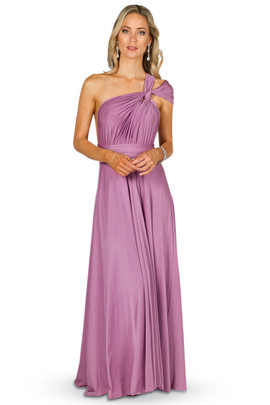 Convertible Bridesmaid Dress Maxi - Blush