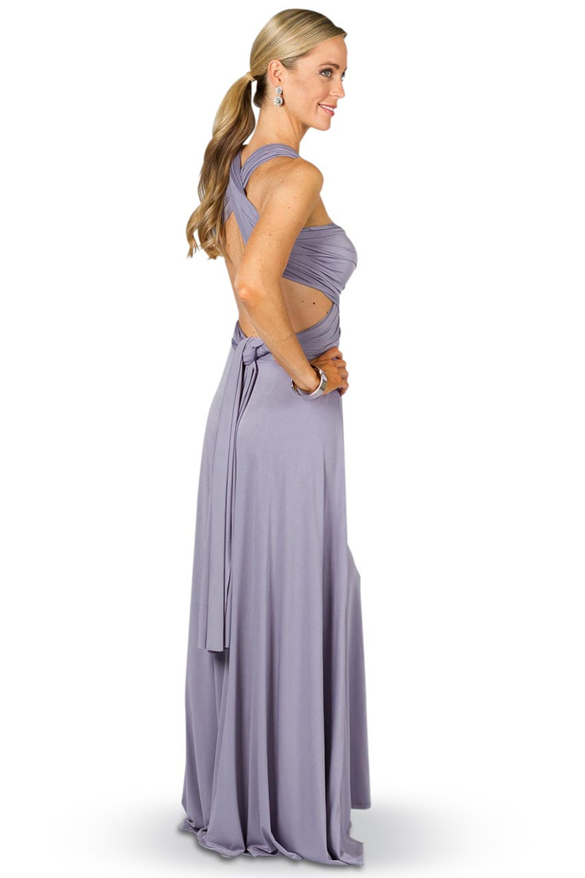 Convertible bridesmaid dress maxi periwinkle bridesmaids etc gallery loading ombrellifo Images