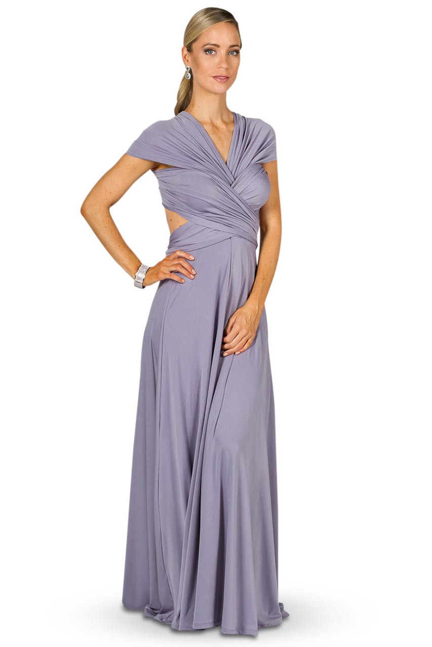 Convertible bridesmaid dress maxi periwinkle bridesmaids etc gallery loading ombrellifo Image collections
