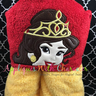 Bella Crown Peeker Applique Design