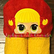 LOL Cheer Doll Peeker Applique Design