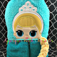 LOL Elsa Doll Peeker Applique Design