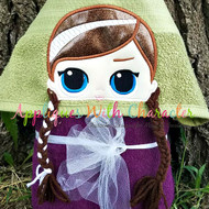 LOL Anna Doll Peeker Applique Design