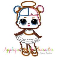 LOL Sugar Doll Applique Design