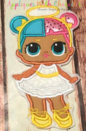 LOL Sugar Doll Applique Design