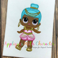 LOL Genie Doll Applique Design
