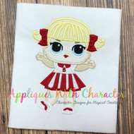 LOL Cheer Doll Applique Design