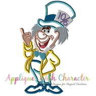 Mad Hatter Full Body Applique Design