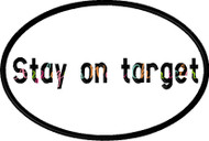 Star Wars Stay on Target Applique Embroidery Design