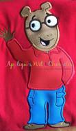 Arthur Applique Embroidery Design