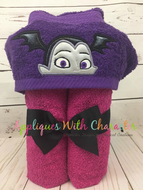 Vampirina Peeker Applique Embroidery Design