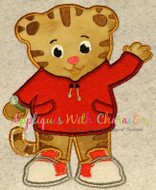 Daniel the Tiger Applique Design