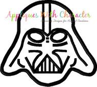 Darth Star Wars Applique Design