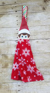 Elf on the Shelf Boy Peeker Applique Design