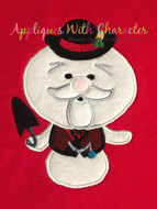 Rudolph Sam the Snowman Applique Design