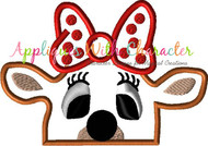 Clarice Rudolph Front Facing Peeker Applique Design