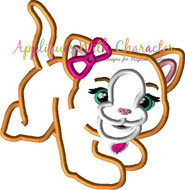 FurReal Kitty Applique Design