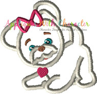 FurReal Dog Applique Design