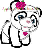 FurReal Panda Applique Design