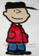Charlie Brown Peanuts Applique Design
