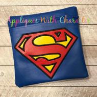 Superman Applique Design
