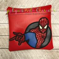 Spiderman Applique Design