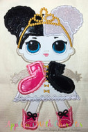 LOL Heartbreaker Doll Applique Design