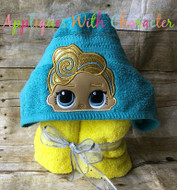 LOL Luxe Peeker Doll Applique Design