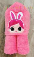 LOL Bunny Peeker Doll Applique Design