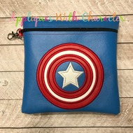 Captain America Applique Design
