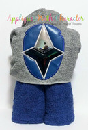 Power Rangers Ninja Steel Blue Applique Design