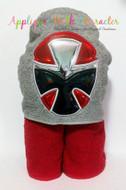 Rangers Ninja Steel Red Applique Design
