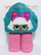 LOL Diva Peeker Doll Applique Design