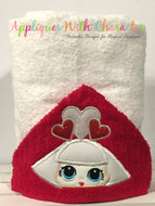 LOL Hearts Doll Peeker Applique Design