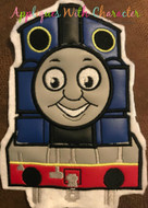 Thomas Train Applique Design