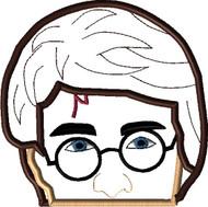 Harry Potter Peeker Applique Design