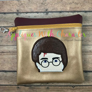 Harry Potter Peeker Applique Design